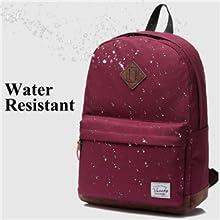 63daaa6d7a Amazon.com  Vaschy Unisex Classic Lightweight Water-resistant Campus ...