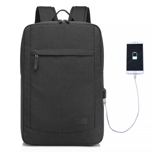 3297686e03 Amazon.com  17 inch Laptop Backpack for Men with USB Charging Port ...