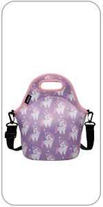 lunch bag cute unicorn