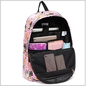 331244cm Wear-resistant Waterproof Backpack Suitable For Junior High School Students Casual Backpack Pink Black School Bag High School Students Student Bag