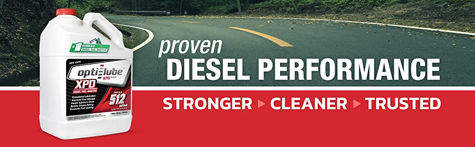 Stronger Cleaner Trusted Proven Diesel Performance