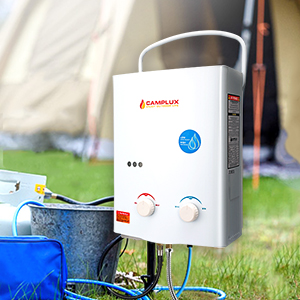 Refurbished Camplux 5L 1 32 GPM Outdoor Portable Tankless Water Heater