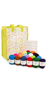 yarn pack acrylic yarn knitting yarn crochet yarn