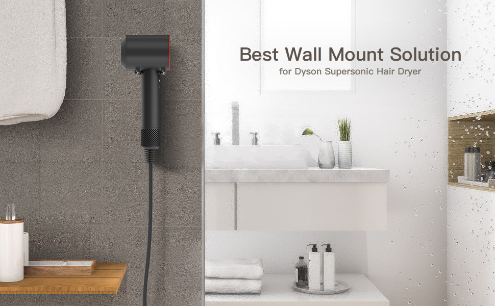 Wall Mount Bracket for Dyson Supersonic