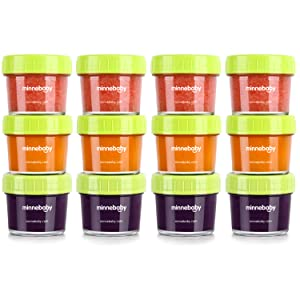 baby food glass containers