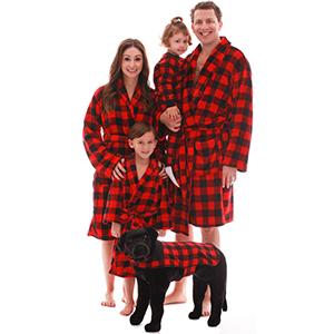 family robe robes velour womens ladies women femail men man mens boys girls childrens kids infant