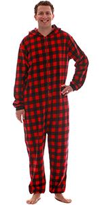 208a19e047 mens adult onesie hooded kigurumi jumpsuit playsuit one piece pajamas  pajama set matching family ...