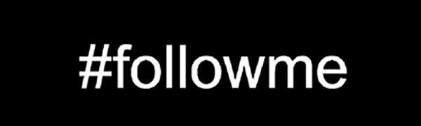 #followme followme follow me logo