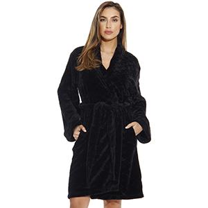 cozy comfy ultra soft plush velour robe
