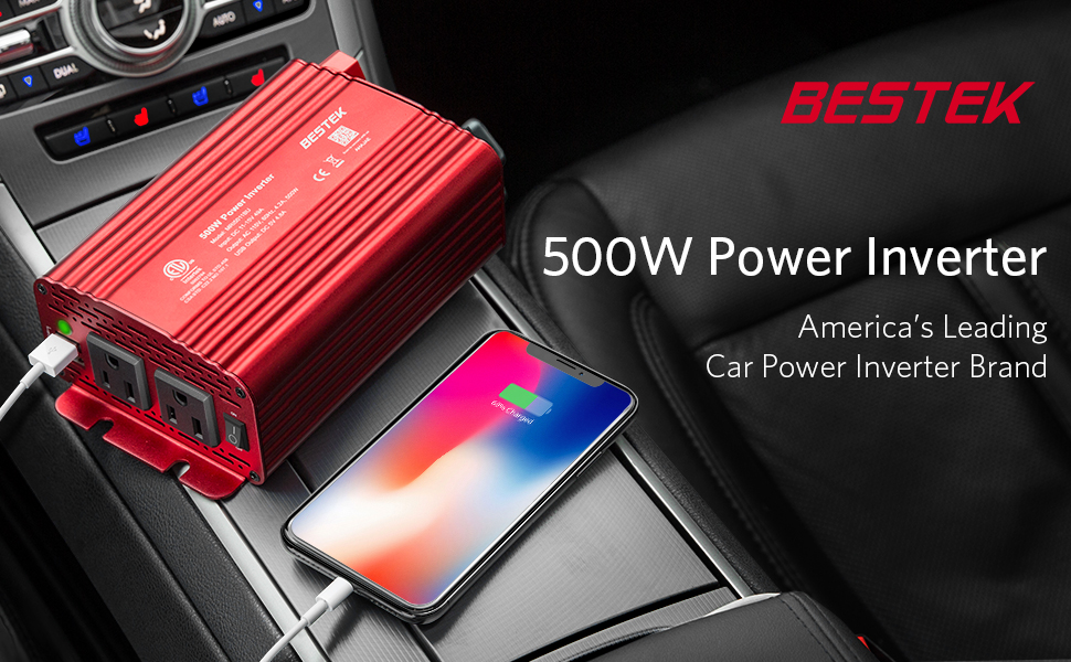 BESTEK 500W Power Inverter