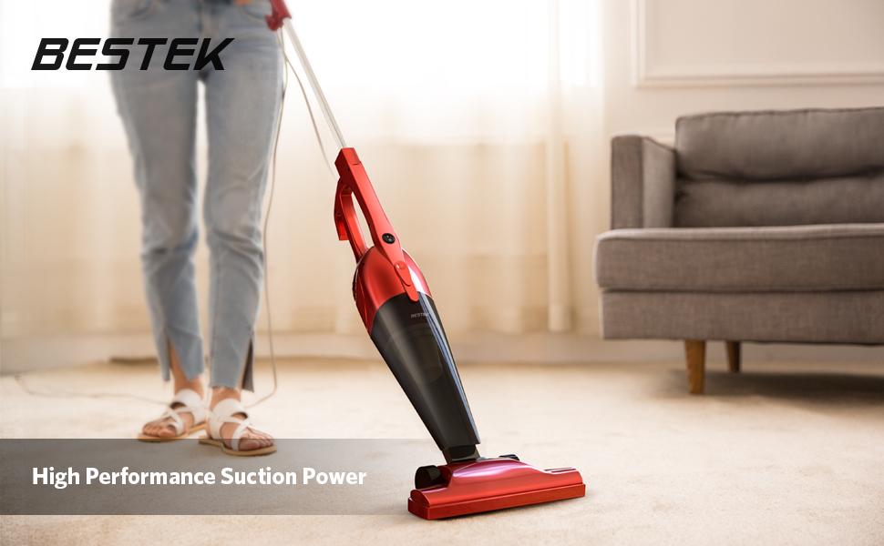 bestek vacuum cleaner 2 in 1 corded upright stick and handheld vacuum cleaners. Black Bedroom Furniture Sets. Home Design Ideas