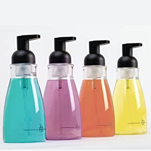 mDesign's versatile soap dispenser pumps give your soap a stylish  home on kitchen or bathroom sinks