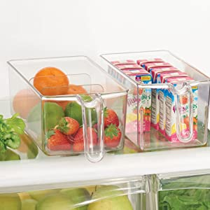 Handles Bins for Portable Storage