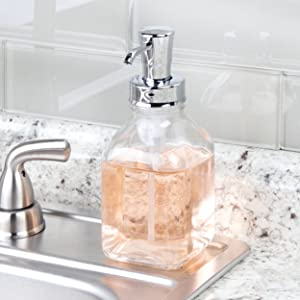 A Dispenser for Every Room Our foaming soap dispensers make a welcome addition to every sink