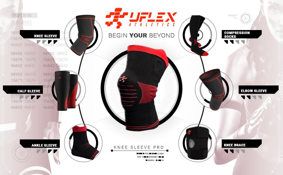 Uflex Knee Sleeve PRO