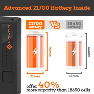 21700 battery pack