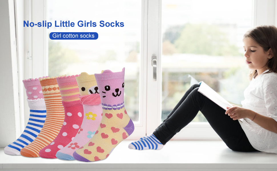 Here Come Lovely Cotton Socks For Your Sweet Girls
