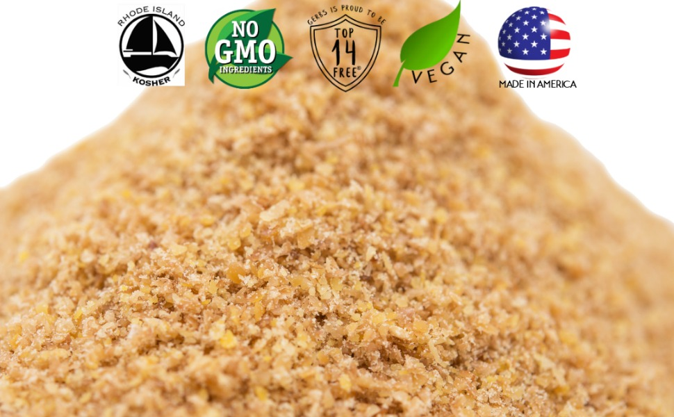 gerbs raw flax seed meal non gmo vegan kosher superfoods all natural organic nothing artificial