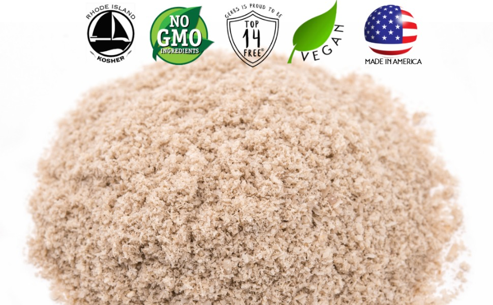 gerbs raw sunflower seed meal non gmo vegan kosher superfoods all natural organic nothing artificial