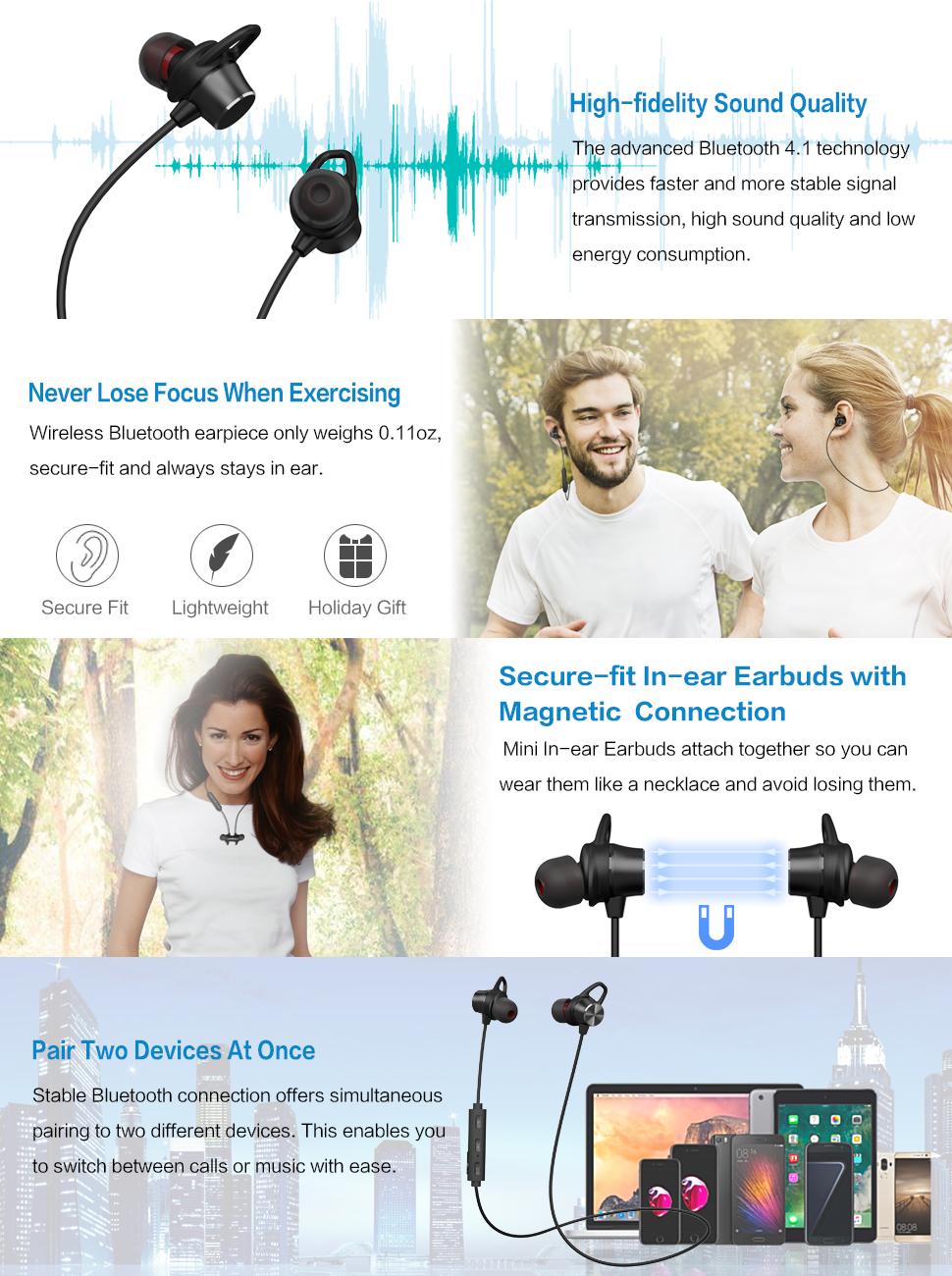 Wireless headphones bluetooth x7 - wireless headphones bluetooth sweatproof