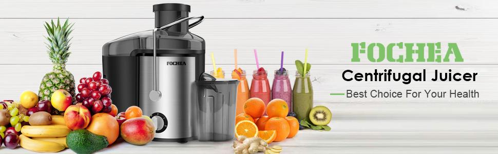 Amazon.com: Extractor de zumo de boca ancha, exprimidor ...