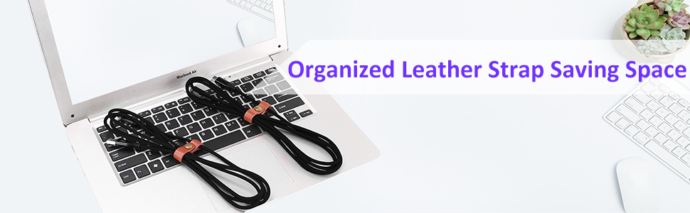 Leather Trip for Organizing