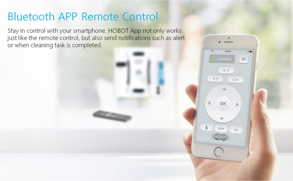 bluetooth app remote control hobot