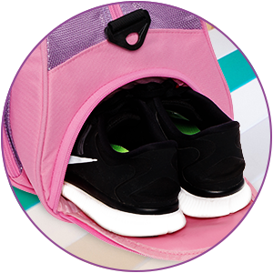 shoe compartment with shoes