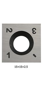 square carbide inserts 15mm