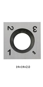 14mm square carbide inserts