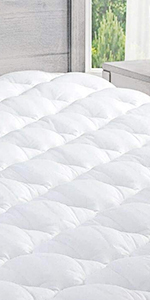 Amazon Com Exceptionalsheets Bamboo Mattress Pad With