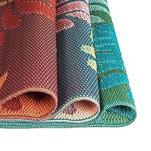 eluxurysupply outdoor rug mad mats uv fade resistant waterproof woven outdoor. Black Bedroom Furniture Sets. Home Design Ideas