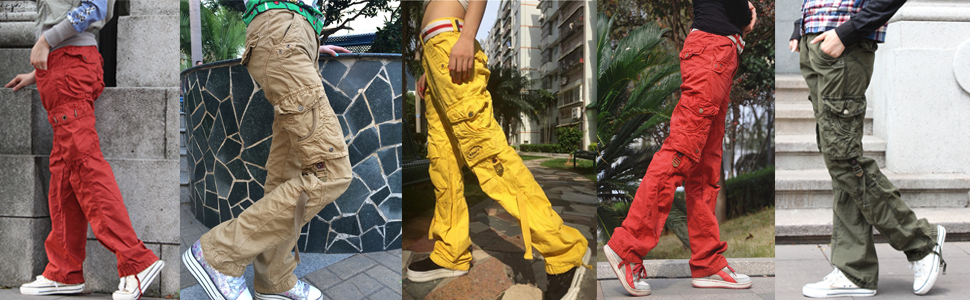 Skylinewears' Fashionable, Leisure, Stylish Looking Women Cargo Pants
