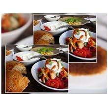plates of food in focus panasonic focus camera