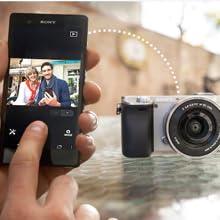 smartphone, smart remote control, a6000