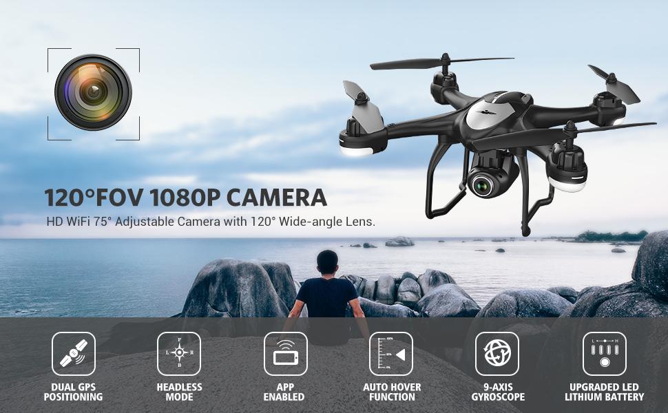 T18 Dual GPS Drone
