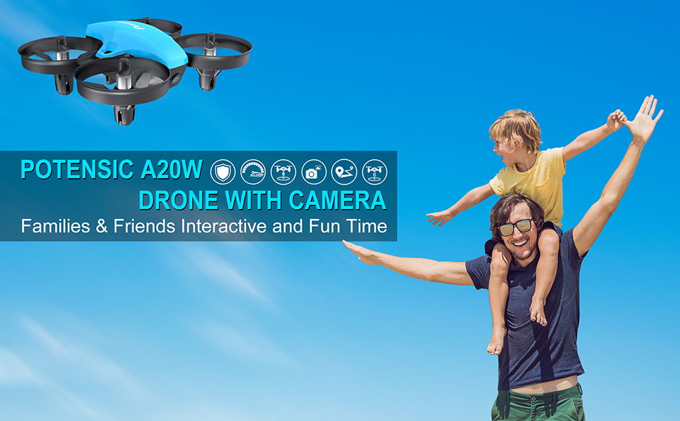 A20W Mini drone for kids