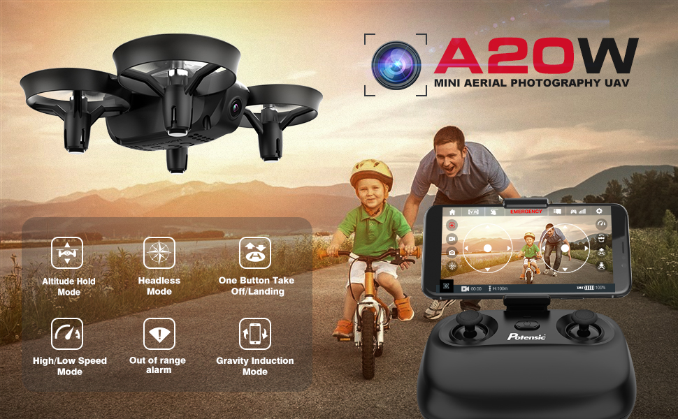 mini drone for kids with camera