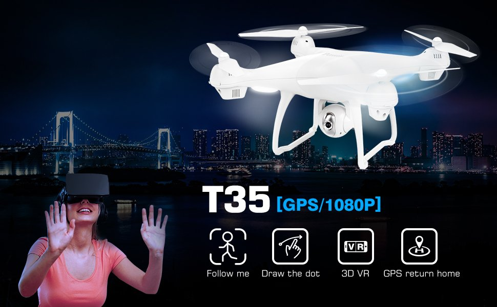 Potensic T35 GPS Drone with Camera