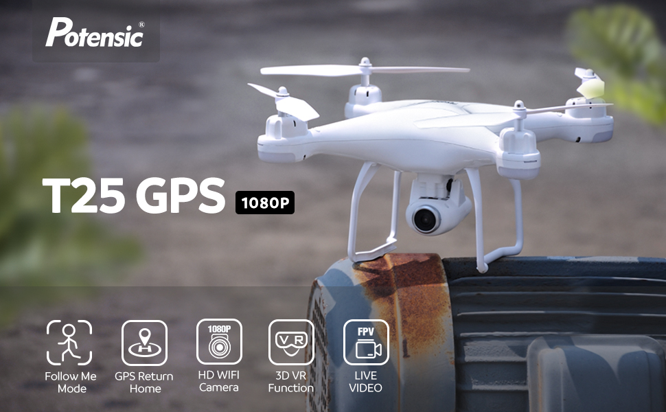 Potensic GPS Drone T25