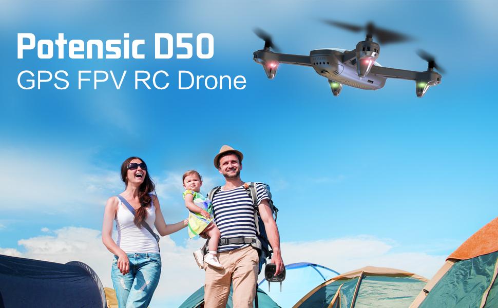 GPS FPV RC Drone
