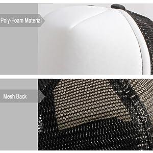 trucker hat black and white black mesh trucker hat youth kids 3 years old 4 5 6 7 8 9 10