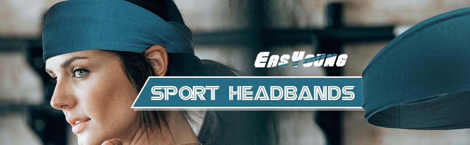 Amazon.com: EasYoung - Cinta para la cabeza para hombre, 2 ...