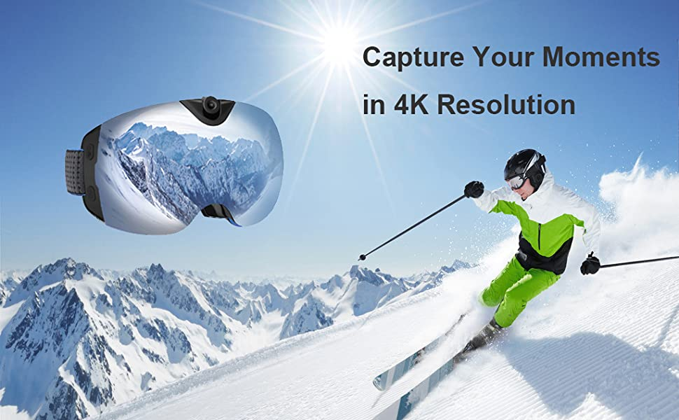 Top 10 Best Video Camera Snow Ski Goggles Reviews 2019-2020 cover image