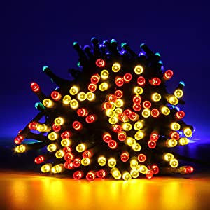 adapter type us standard plug led quantity 200 length 22m cable color green light color red green blue and yellow