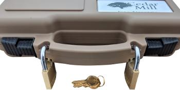gun case foam ruger security 9 magazine handgun boxes for pistols pistol 9mm accessories box hard
