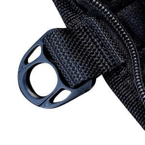 carabiner clip heavy duty large small sizes aluminum d-ring add on bulk black big badge holder