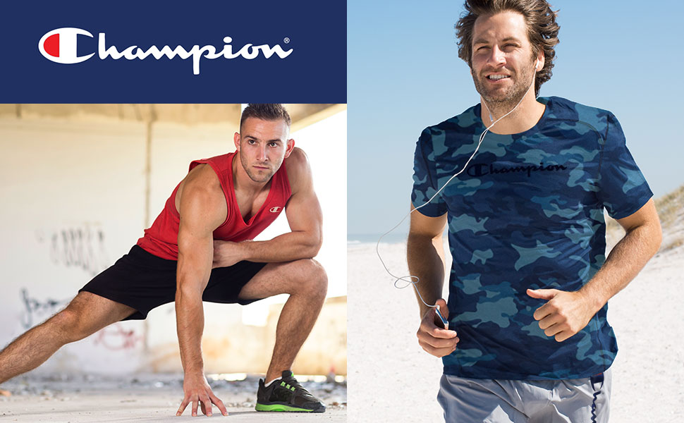 Champion big and tall shirts shorts tanks sunbathing bathing suits