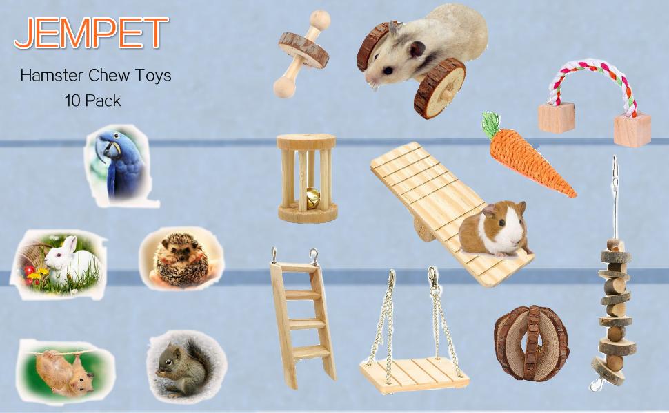 hamster chewtoy