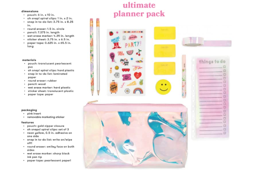 ban.do Planner Sticker Book, 35 Pages with Over 700 Assorted Stickers, Issue 3